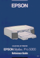 Epson Pro 5000 Reference Manual