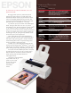 Epson Stylus Photo 1200 Brochure & Specs