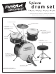 First Act DRUM SET FD-514 User Manual