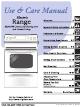 Frigidaire ES200/300 Use And Care Manual