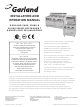 Garland S680 Series Installation And Operation Manual