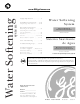 GE GXSF30H Owner's Manual & Installation Instructions