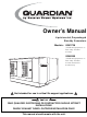 Generac Power Systems 0043736, 0046265 Owner's Manual