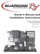 Generac Power Systems 02010-2, 04164-3 Installation And Owner's Manual