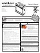 Heat & Glo 6000G-IPI Owner's Manual