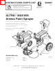 Graco ULTRA MAX 695 232133 Instructions-parts List Manual