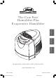 Hunter CARE FREE 33201 User Manual