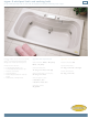 Jacuzzi Signa 6 Whirlpool Bath and Soaking Bath C100 Specification Sheet
