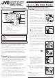 JVC GR-DVM50 User's Manual