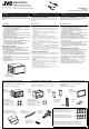 JVC KW-AVX810J Installation Manual