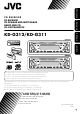 JVC KD-G311 Instructions Manual