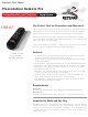 Keyspan PR-PRO3 Product Fact Sheet
