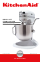 KitchenAid 6397dZw608 Instructions And Recipes Manual