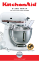 Speed Control Guide 10 Speed Mixers Kitchenaid Stand