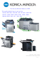 Konica Minolta BIZHUB 250/350 User Manual