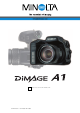 Minolta DiMAGE A1 Instruction Manual