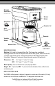 Bunn Coffee Maker Nhbx Parts : BUNN BX USE AND CARE MANUAL Pdf Download.
