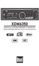 xdm6350_1_thumb dual xdm6350 installation & owner's manual pdf download dual xdm6350 wiring diagram at creativeand.co