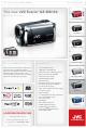 JVC Everio GZ-HD3 Install Manual