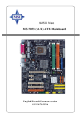 MSI 925X Neo Platinum User Manual