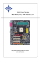 MSI K8N Neo Platinum User Manual