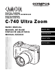 Olympus CAMEDIA C-740 Ultra Zoom Basic Manual