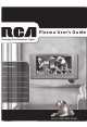 RCA P42WED33 User Manual