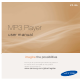 Samsung yePP YP-S5 User Manual
