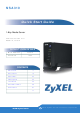 ZyXEL Communications NSA310 Quick Start Manual