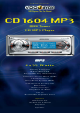 VDO CD 1604 MP3 Datasheet
