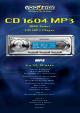 VDO CD 1604 MP3 Datasheet