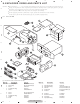 Pioneer DEH-P6000UB - Radio / CD Exploded Views And Parts List