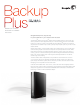 Seagate Backup Plus for Mac Desktop Datasheet
