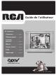 RCA 20F424T - 20 Flat-Tube TV Guide Utilisateur