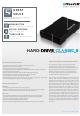 FREECOM HARD DRIVE CLASSIC II Datasheet