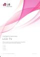 LG 22LD350 Owner's Manual