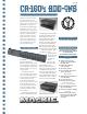 MACKIE CR1604 - DATASHEET ADDONS 7-1-95 Datasheet