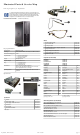 HP SignagePlayer mp8000r Illustrated Parts And Service Map