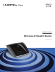 Linksys WRT310N - Wireless-N Gigabit Router Wireless User Manual
