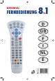 universal remote control 8 in 1 manual pdf download clikr-5 cable remote control manual clikr-5 manual