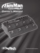 DIGITECH JAMMAN Owner's Manual