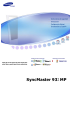 Samsung SyncMaster 932MP Manual Del Usuario