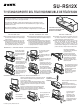 Sony SU-RS12X - Stand For Rear Projection TV Instructions Manual