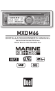 mxdm66_1_thumb dual mxdm66 installation & owner's manual pdf download dual mxdm66 wiring diagram at edmiracle.co