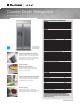 Electrolux E23CS78HPS - Icon s Specification Sheet