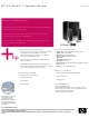 HP GL313AA - USB Speakers PC Multimedia Datasheet