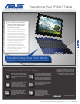 Asus TF300T-B1-BL Brochure