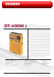 SANGEAN DT-400W Brochure