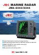 JRC JMA-2343 Specifications