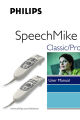 Philips 5274 - SpeechMike Pro - Trackball User Manual